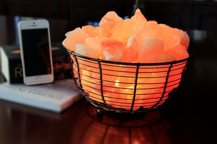 Ten unas maravillosas lamparas de sal de Himalaya en casa siguiendo este paso a paso Manos a ...