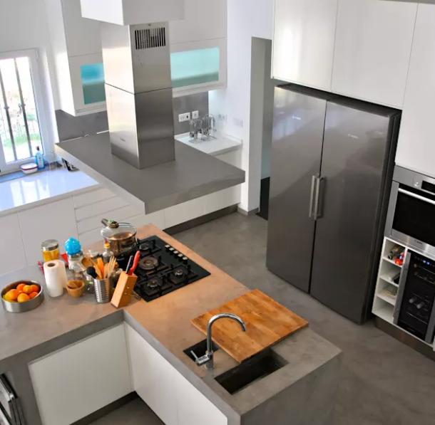 Mira los distintos tipos diseños de mesadas para cocina con texturas ...