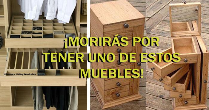 10 muebles con las suficientes comparticiones que - Muebles inteligentes ...