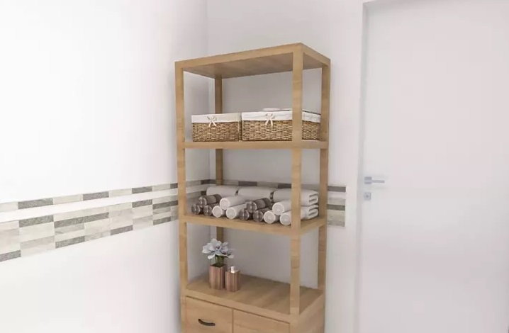10 muebles a la medida de tu ba o que querr s tener hoy mismo en casa manos a la obra - Cajoneras para bano ...