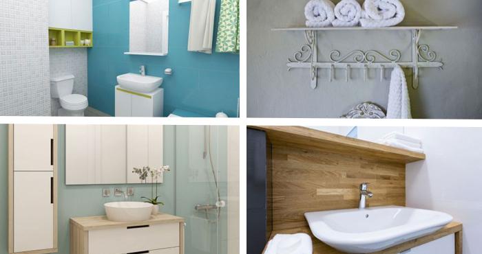 12 Ingeniosas ideas para convertir tu baño pequeño en una espaciosa ...