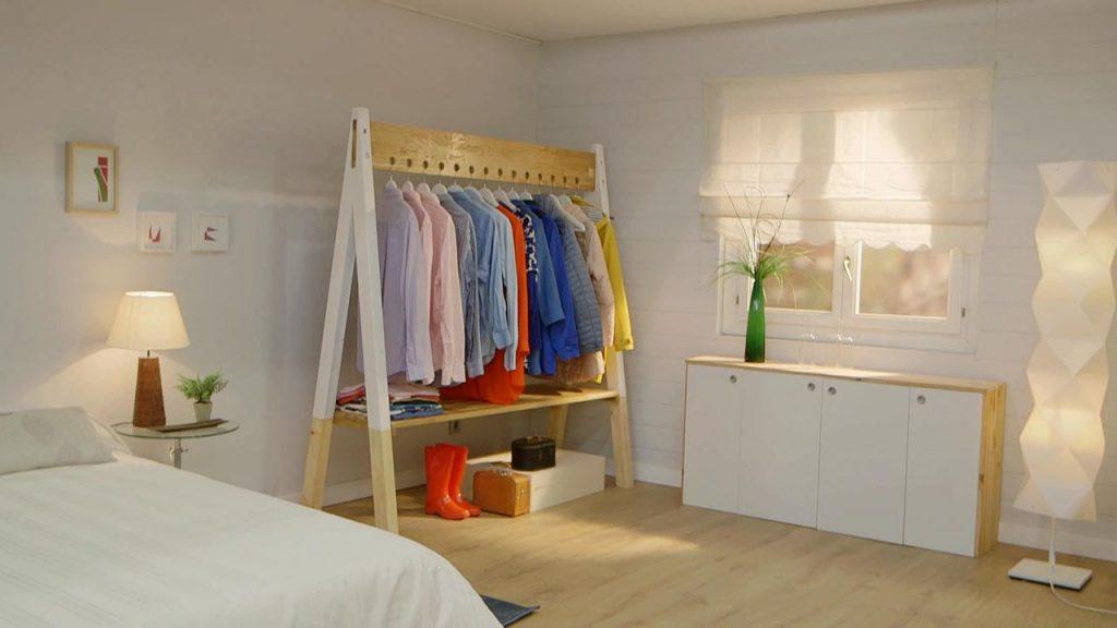 Construye el perchero burro de madera que pondr todo en orden en menos de 5 minutos manos a - Burro para colgar ropa ...