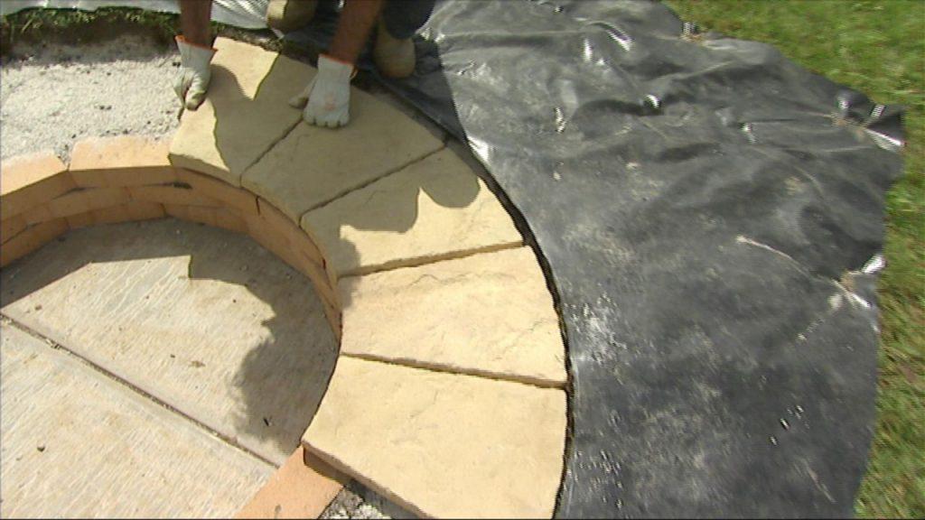 Te imaginas tener una barbacoa circular en el suelo - Pasos para hacer una barbacoa ...