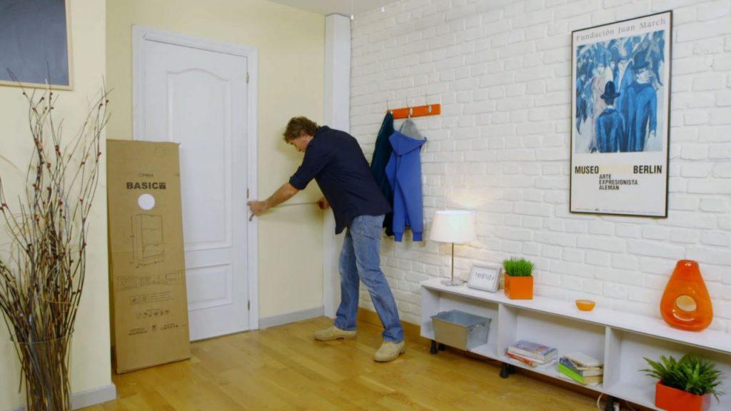 comenzamos midiendo bien el hueco de nuestra casa en el que queremos que encaje el nuevo mueble with muebles bricomania best bricomania armario empotrado - Bricomania Armario Empotrado