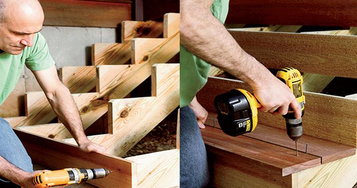 Conoce c mo construir escaleras de madera con esta gu a de - Como fabricar escaleras de madera ...