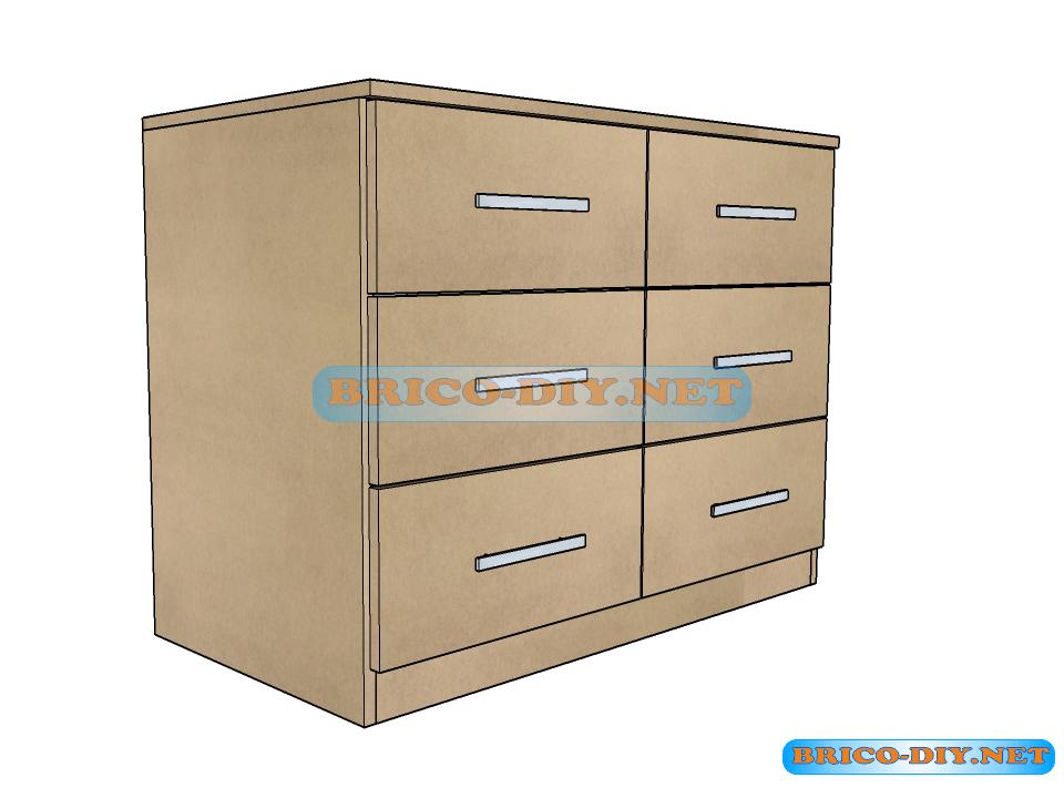 Gu as planos y medidas para aprender c mo hacer una for Planos de muebles de madera pdf