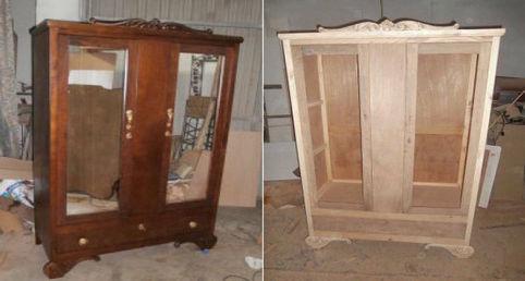 Pintar un mueble barnizado no ser un problema con este for Pintar muebles barnizados