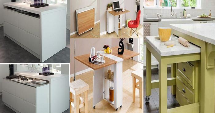16 muebles pr cticos para el ahorro de espacio en una for Muebles de cocina practicos