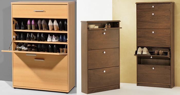 Construye tu propia zapatera minimalista a medida for Medidas de zapateras