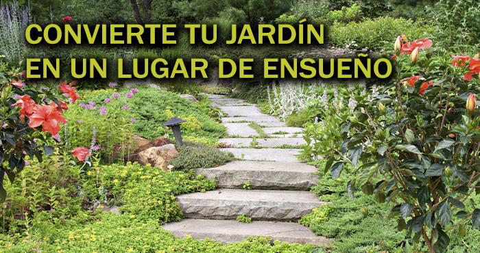 17 Ingeniosas ideas para hacer de tu jardín un rincón paradisíaco ...