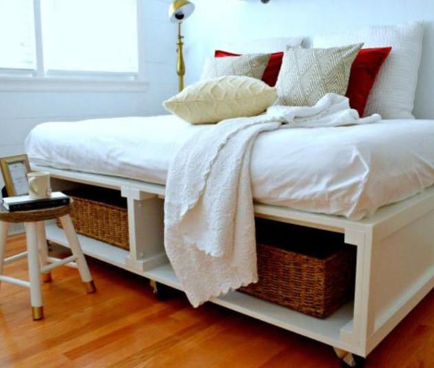 8 de los mejores modelos de cama con plataforma que puedes hacer tu ...