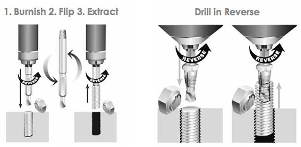 Como sacar un tornillo roto con extractor