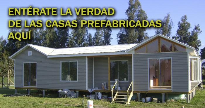 ¿Exactamente Qué Son Las Casas Prefabricadas? ¿Son Habitables? Entérate Con  Nosotros En La Siguiente Nota. ¡Imposible Perdérselo!