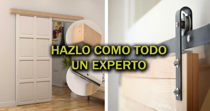 Construye Paso A Paso Una Puerta Corrediza Con La Técnica Veloz Del