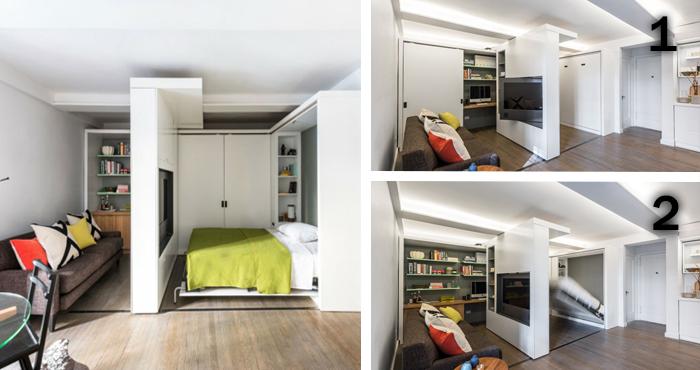 gana grandes espacios en un peque o apartamento con estos
