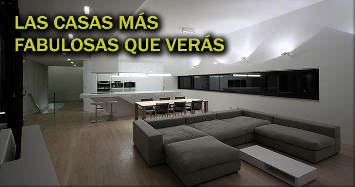 Las casas minimalistas en donde todos quisieron vivir a for Casa minimalista interior cocina