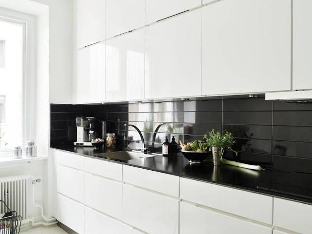 Genial paredes cocina sin azulejos fotos paredes cocina - Paredes de cocina sin azulejos ...