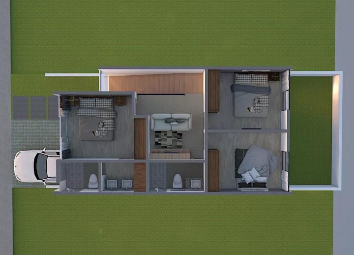 5 Conceptos para casa pequeñas con espacios muy bien aprovechados ...