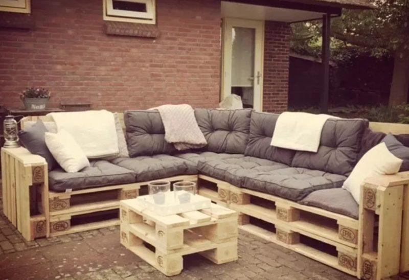 ms ideas para muebles de exterior hechos con palets comodidad y elegancia - Ideas Con Palets