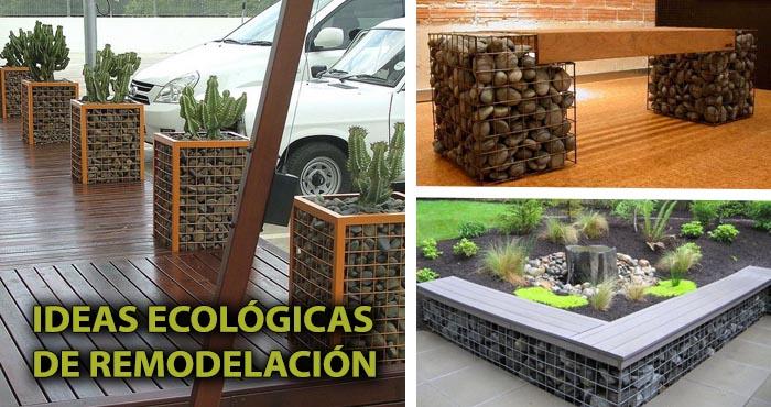 20 ingeniosas formas de reutilizar piedras y crear obras for Como remodelar mi jardin