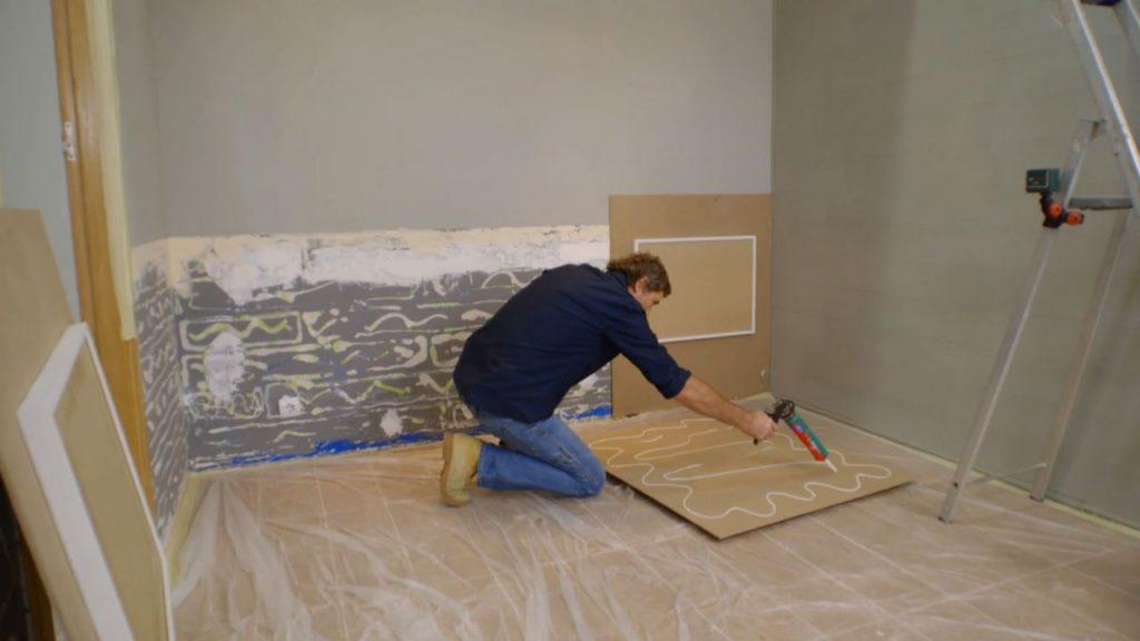 Instala tu propio friso de cuarterones de madera como todo - Friso para pared ...