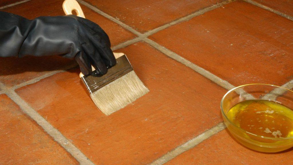 Abrillanta tu suelo de barro logrando un mantenimiento - Suelos barro cocido ...