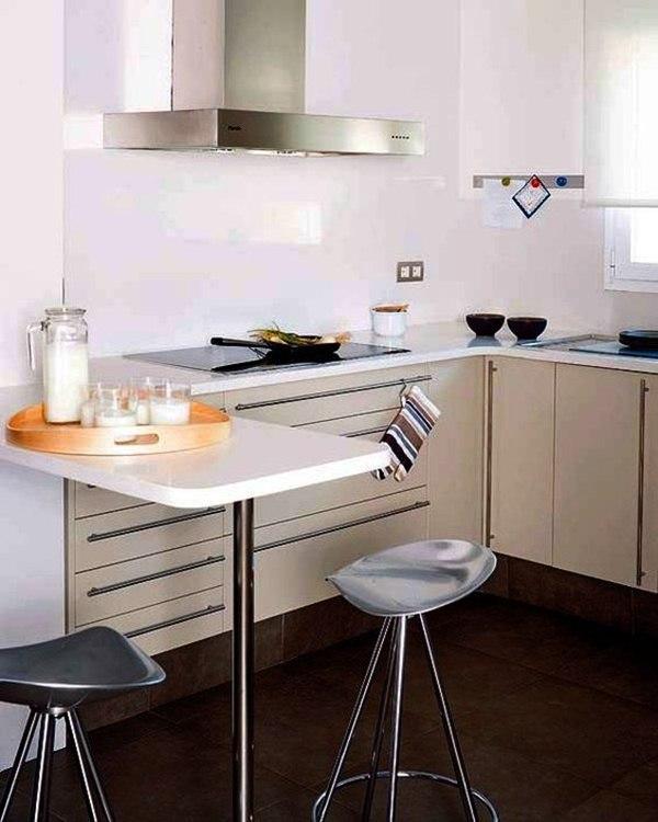 13 fabulosas ideas para construir cocinas con barra y for Cocina con barra para comer