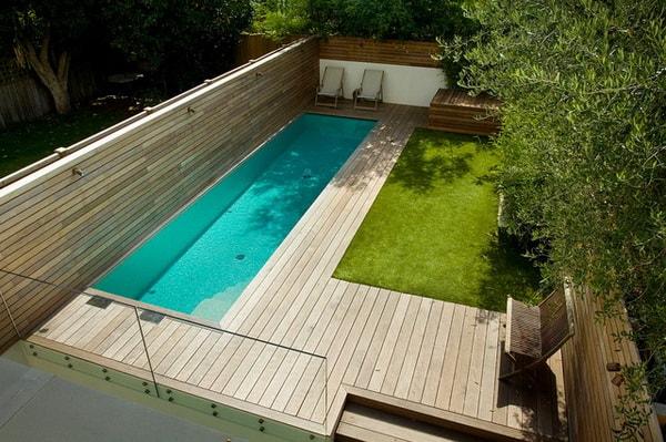 quieres tener una piscina pero tu patio es peque o