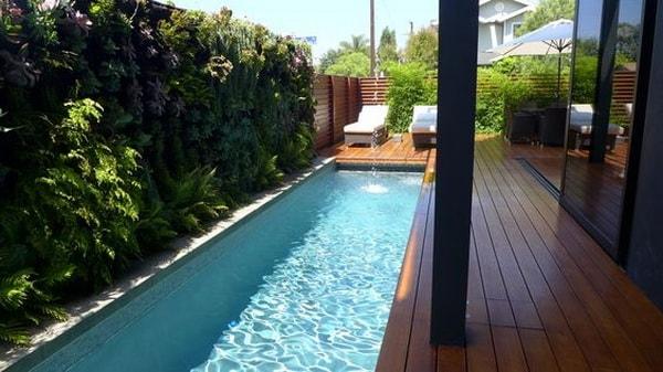 Quieres tener una piscina pero tu patio es peque o for Piscinas pequenas para patios