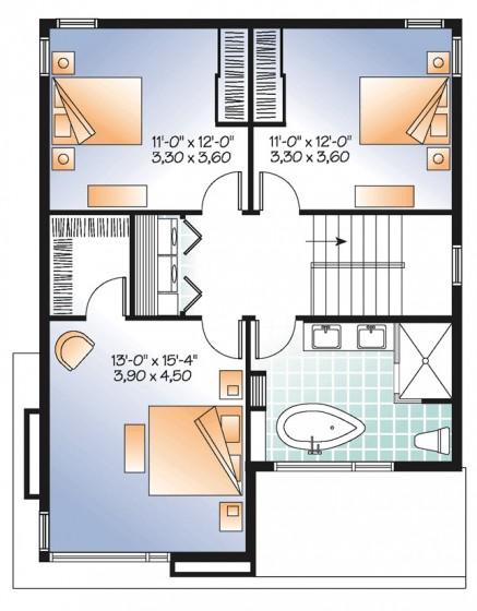 Descarga planos gratis para construir casas de 42 m2 con fachadas ...