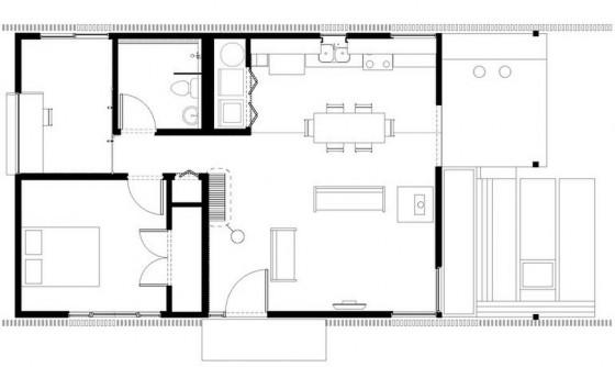 Descarga Planos Gratis Para Construir Casas De 42 M2 Con