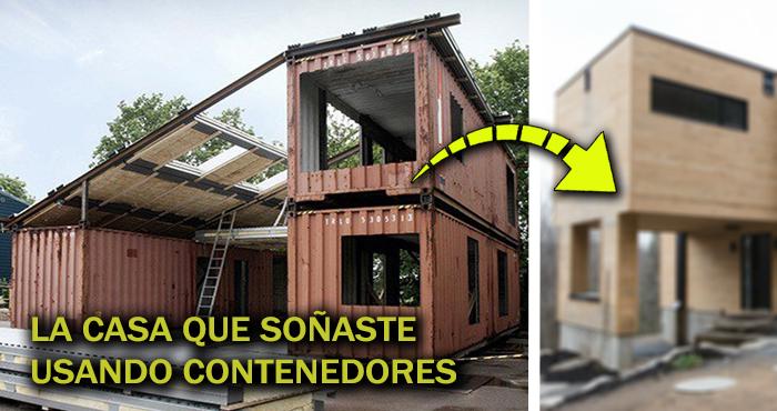 La impresionante construcci n de la casa m s popular de Casas con contenedores precios