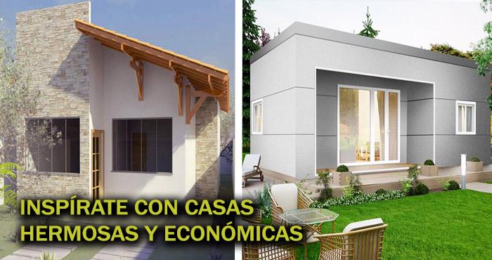 22 de los m s famosos dise os para construcciones de casas Disenos de casas economicas