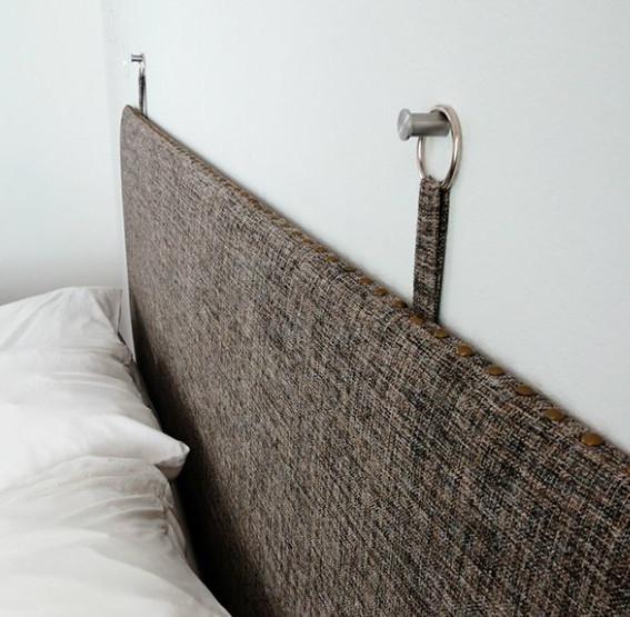 Crea una cabecera acogedora y práctica con los materiales más ...