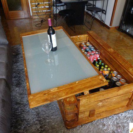 La mesa elevable que todos quieren tener usando simples pallets de ...