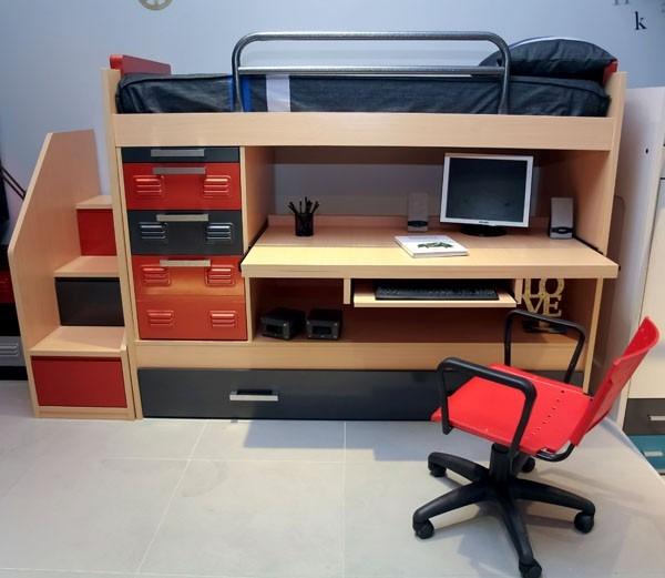 Apunta las medidas perfectas para construir tu pr ctico for Cama escritorio