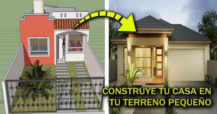 Tienes un terreno peque o construye tu propia casa de un - Construye tu propia casa ...