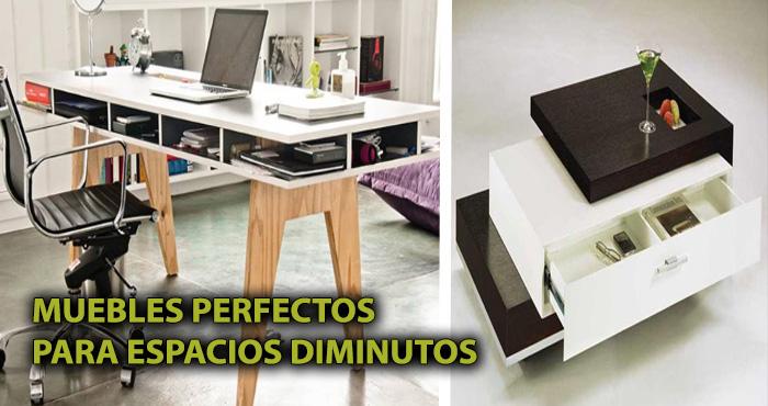 18 muebles estrat gicos multi funcionales perfectos para espacios peque os manos a la obra - Muebles funcionales para espacios reducidos ...