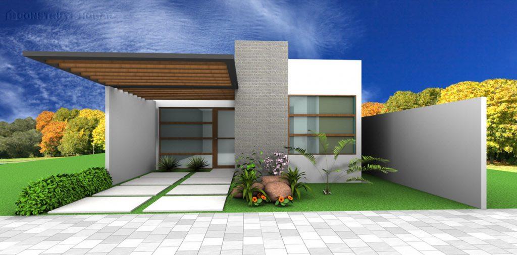 Fachadas de casas de co 191 tienes un terreno peque 241 o for Construye tu casa en 3d