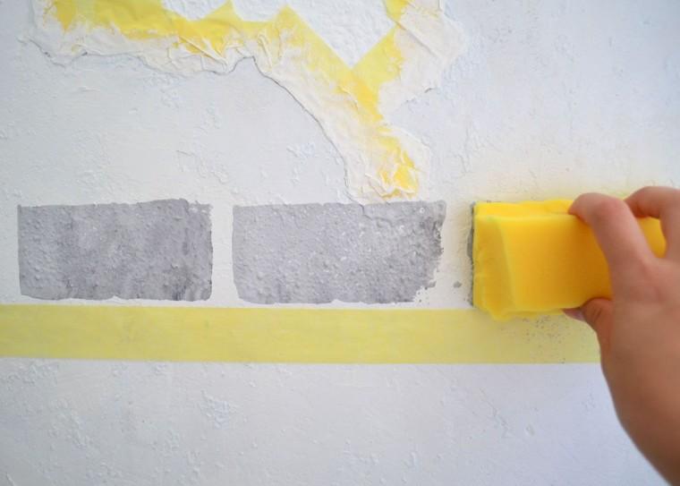Quieres hacer algo impresionante en tu pared aprende - Formas de pintar paredes ...