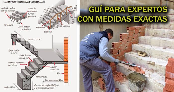 Medidas Exactas Para Construcci N De Escaleras Descargando