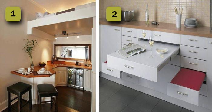 Aprovecha hasta le último rincón de tu casa con las 16 grandes ideas ...
