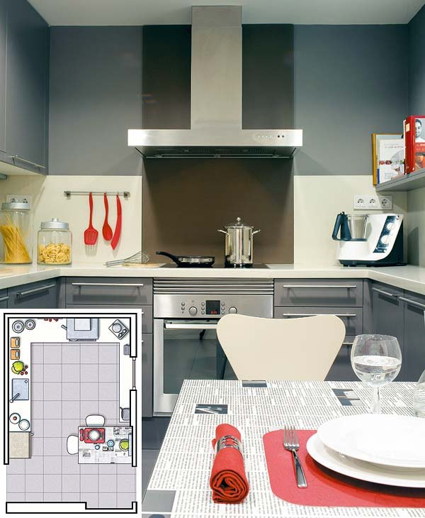 Asombroso Planificar Remodelación De La Cocina En Línea Motivo ...
