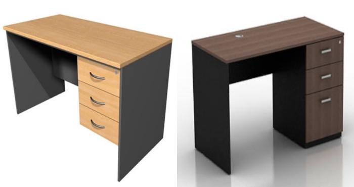 Mira c mo crear un escritorio para tu habitaci n con estos for Plano escritorio melamina